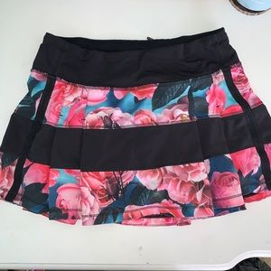 Lululemon floral rose skirt